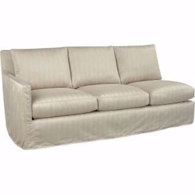 Picture of NANDINA OUTDOOR SLIPCOVERED ONE ARM SOFA
