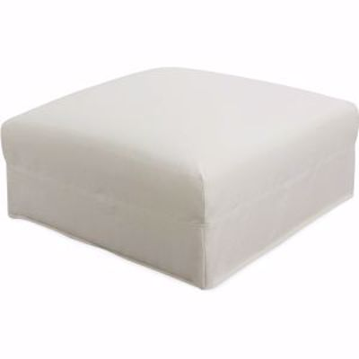 Picture of BERMUDA OUTDOOR SLIPCOVERED OTTOMAN