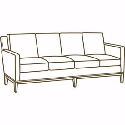 Picture of 1399-44 EXTRA LONG SOFA