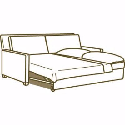 Picture of 3827-97 CONVERTIBLE FULL SLEEPER