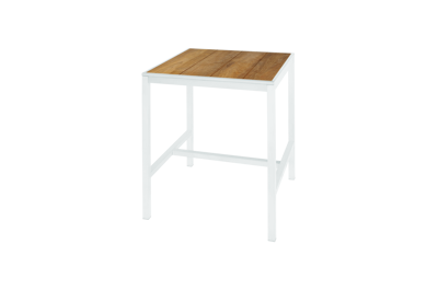 Picture of ALLUX BAR TABLE 80 (RECYCLED TEAK)