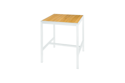 Picture of ALLUX BAR TABLE 80 (STRAIGHT SLATS)