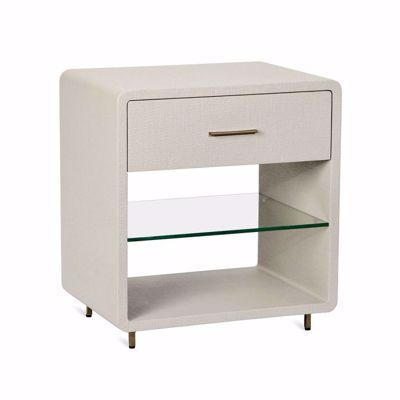Picture of ALMA BEDSIDE CHEST  - SAND