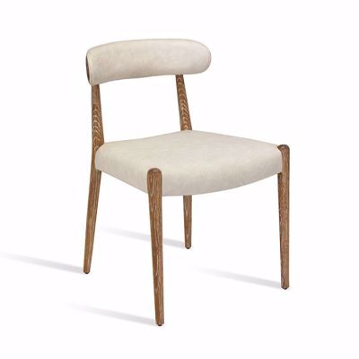 Picture of ADELINE DINING CHAIR - WHITEWASH
