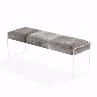 Picture of AIDEN BENCH - LIGHT NATURAL