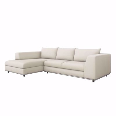 Picture of COMODO LEFT CHAISE SECTIONAL - PEARL
