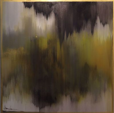 Picture of CANVAS ART, GOLD RUSH