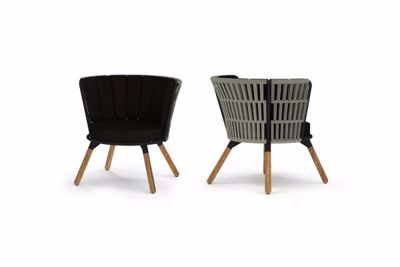 Picture of DAISY RAE CHAT CHAIR (TEAK LEGS)